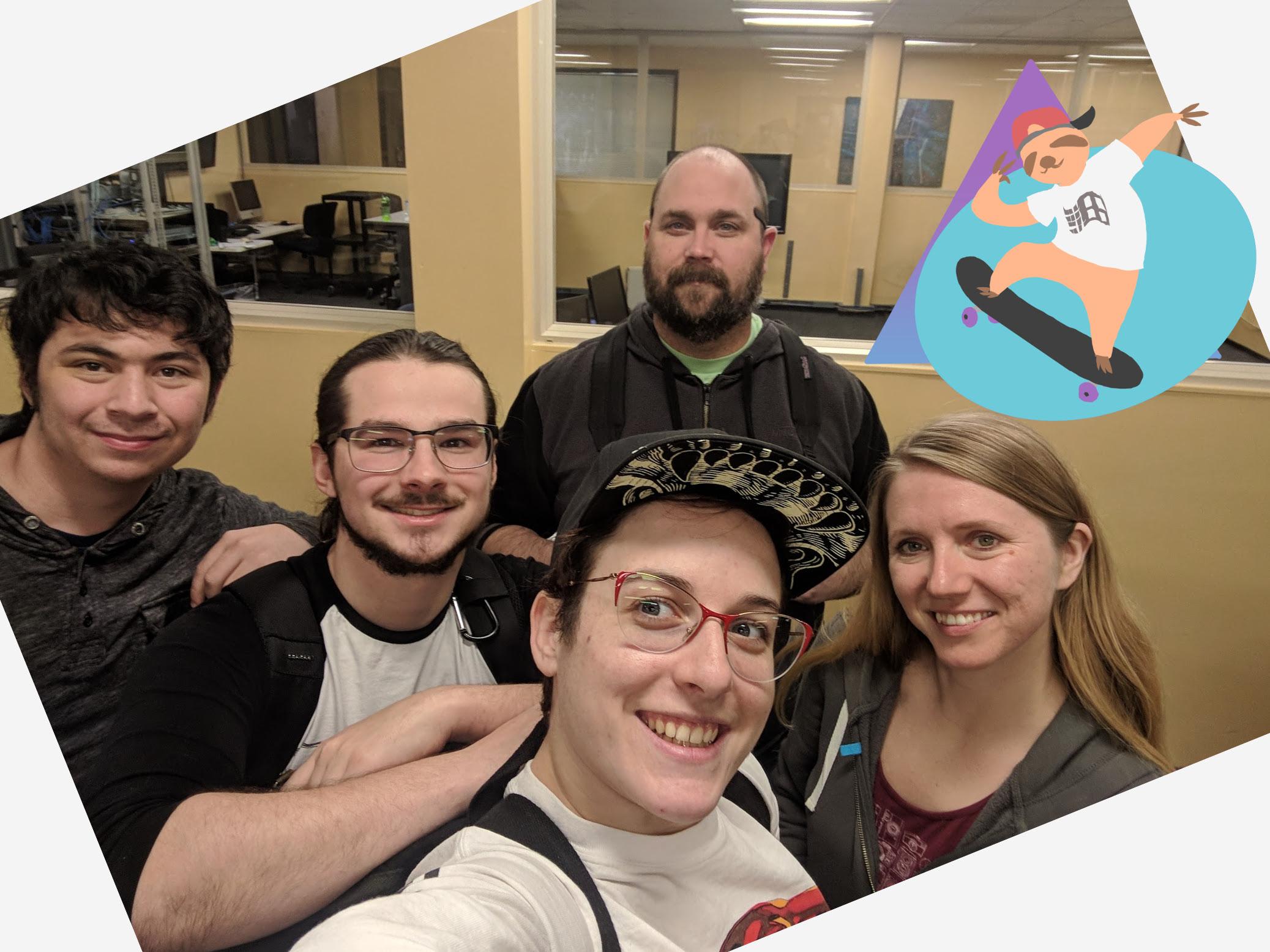 Slothwave Team Photo