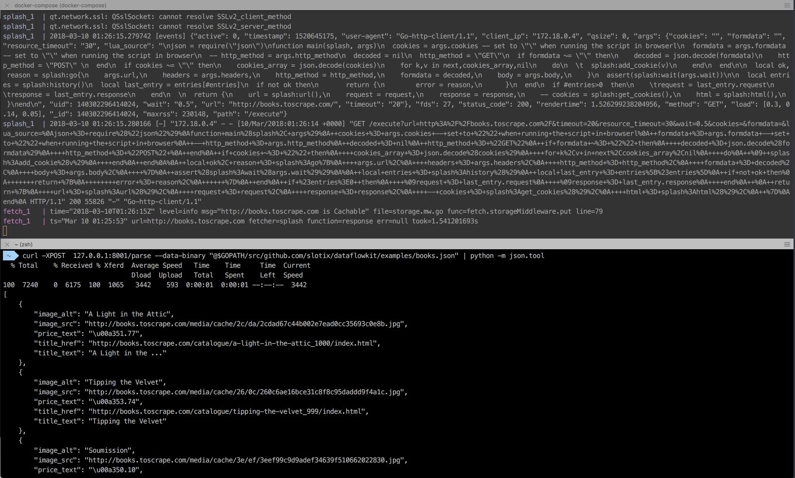 IMAFGE ALT CLI Dataflow kit web scraping framework