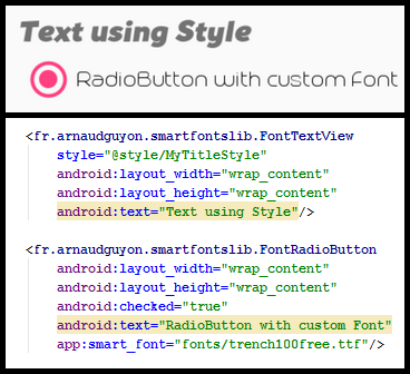 Smart Fonts - Sample Code and Directory of libraries for
