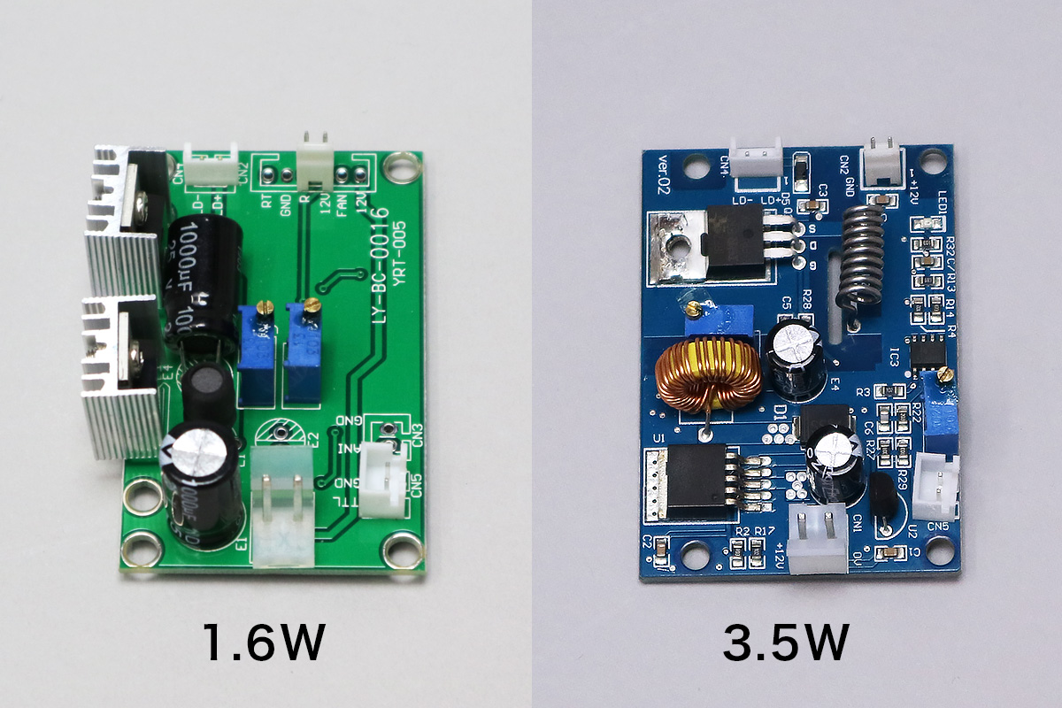 レーザー基板 (1.6W/3.5W)