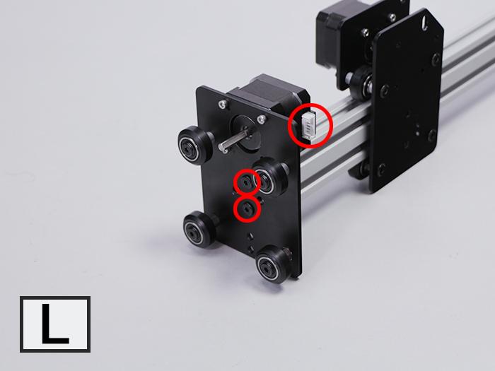 XY軸ユニット組み立て-3