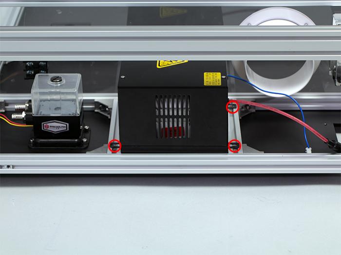 レーザー電源取り付け-2