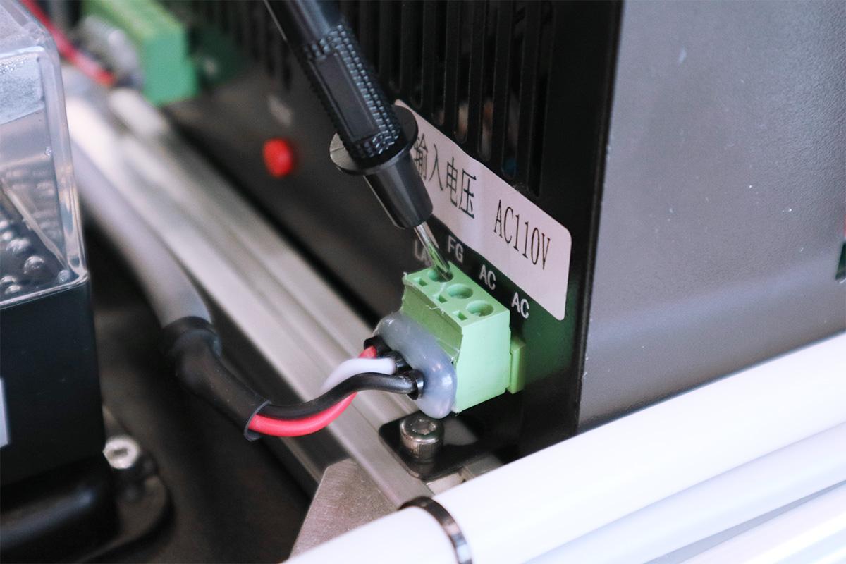 導通確認: AC-Laserケーブル・AC-Mainケーブル-1