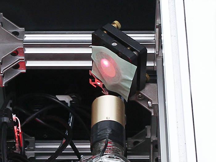 光軸調整 レーザー管-3