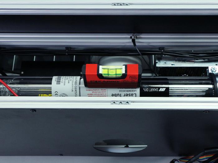 光軸調整 レーザー管-6