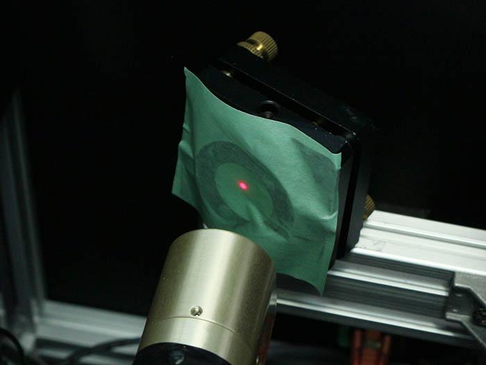 光軸調整 レーザー管-7