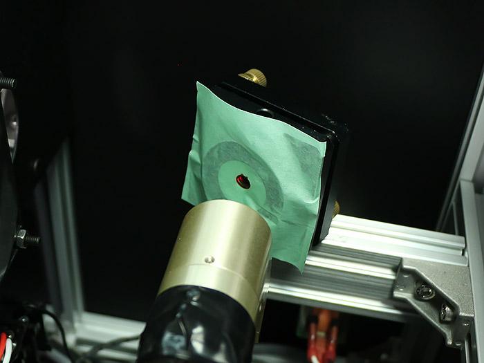 光軸調整 レーザー管-8