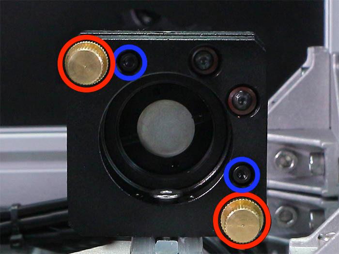 ミラーマウント調整ネジ 使い方-1