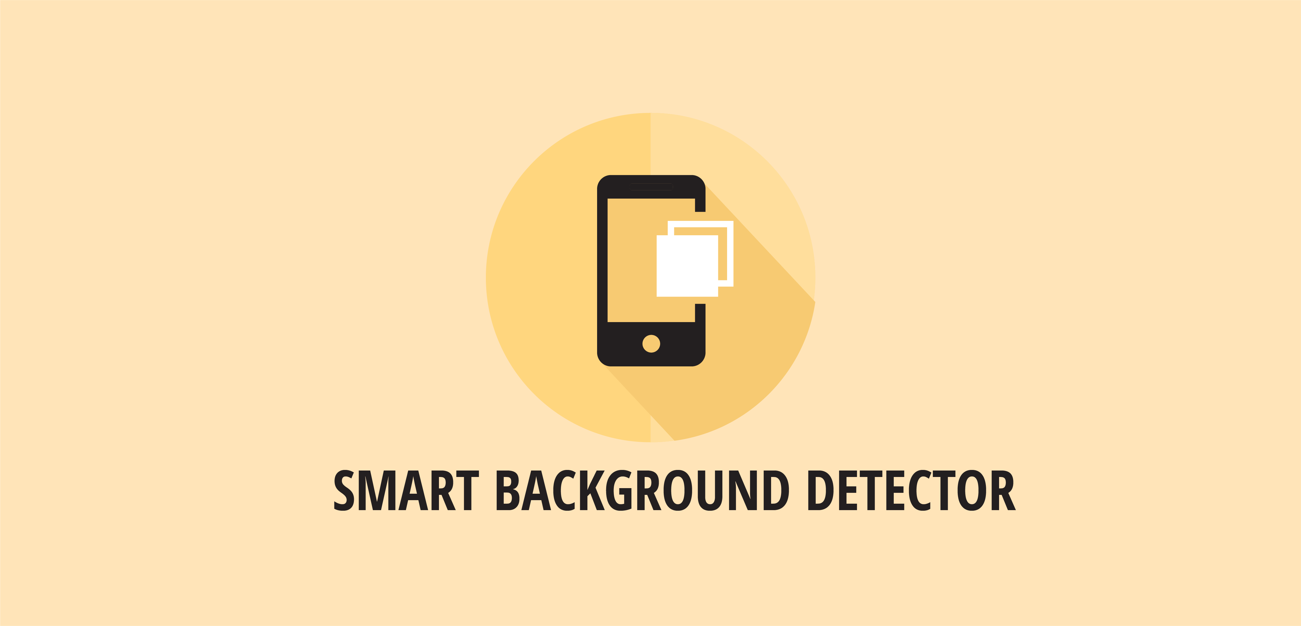 GitHub - smartnsoft/backgrounddetector-android: A simple