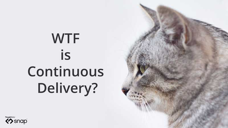 wtf is continuous delivery?