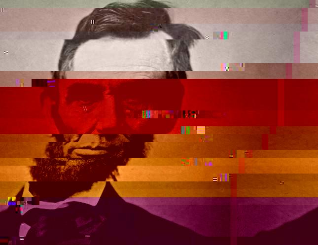 glitched image