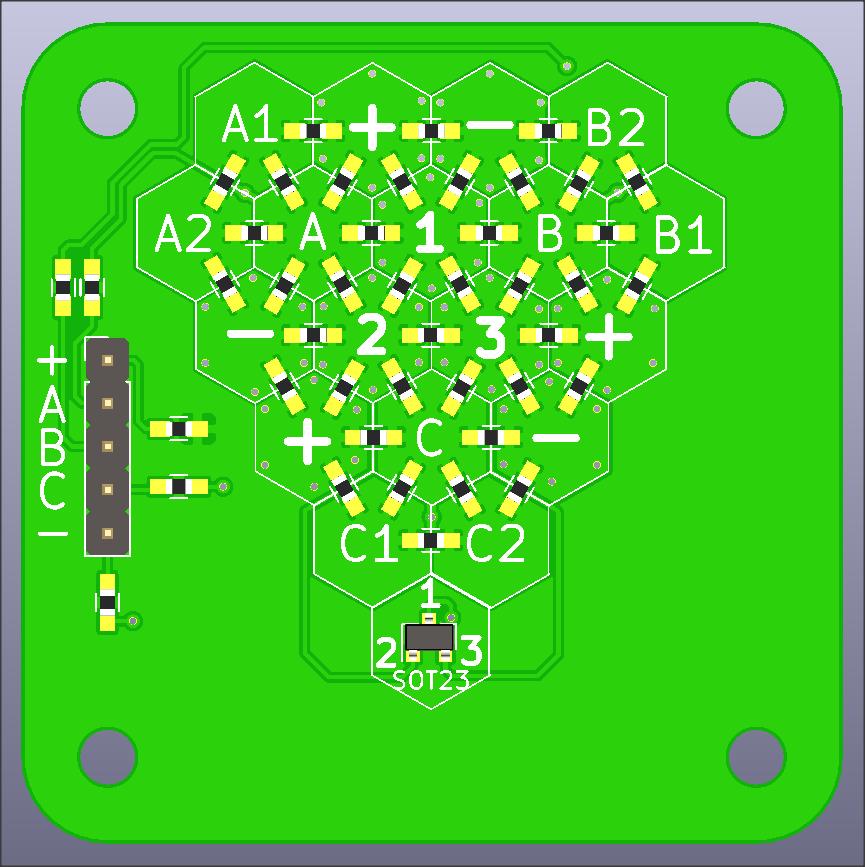 PCB Top 3D
