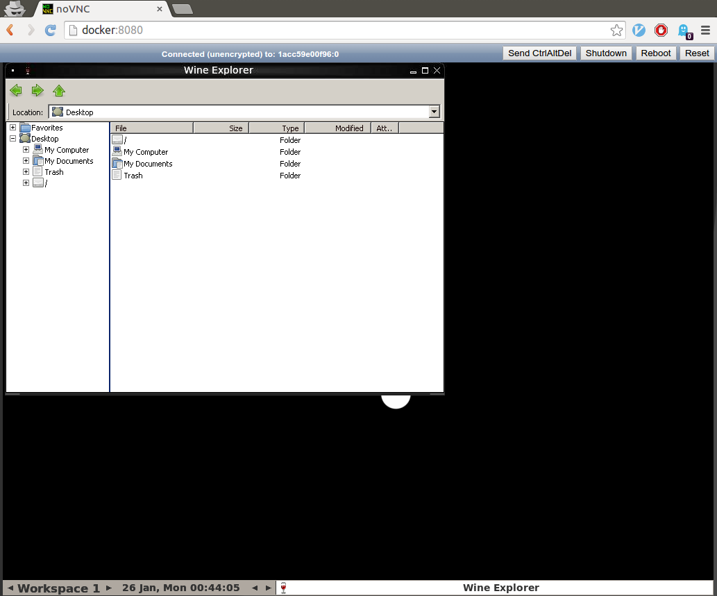 Explorer Screenshot