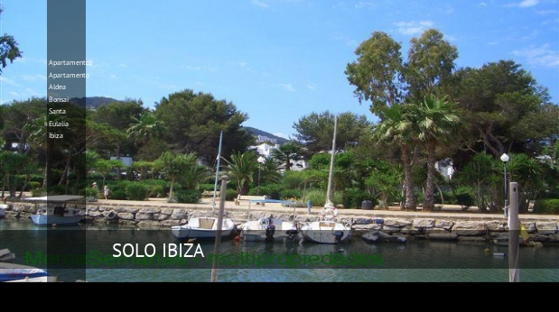 Apartamentos Apartamento Aldea Bonsai Santa Eulalia Ibiza reverva