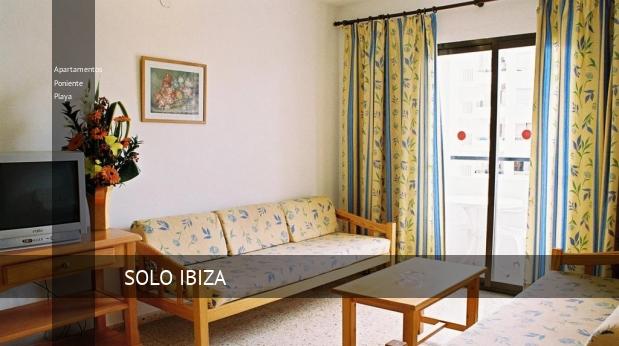 Apartamentos Poniente Playa reservas