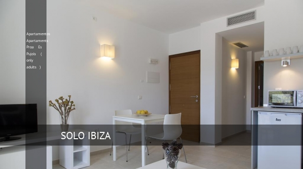 Apartamentos Apartaments Proa Es Pujols ( only adults )