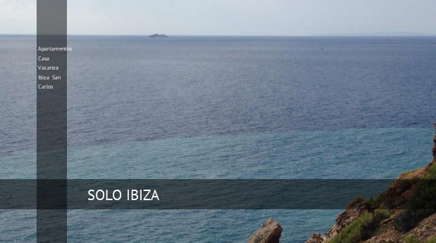 Apartamentos Casa Vacanza Ibiza San Carlos booking