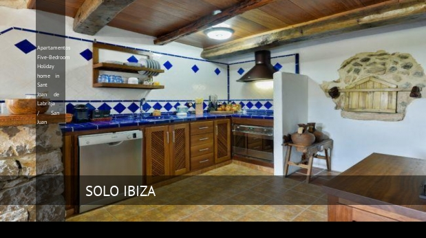 Apartamentos Five-Bedroom Holiday home in Sant Joan de Labritja / San Juan opiniones