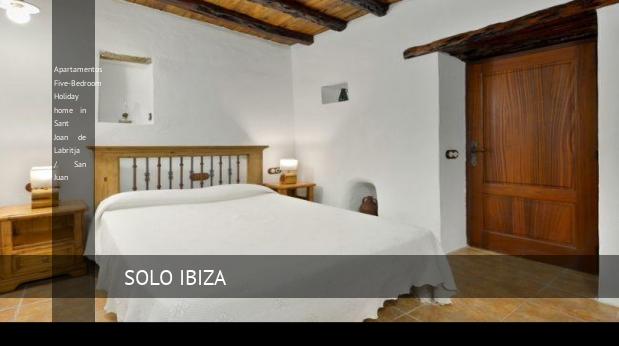 Apartamentos Five-Bedroom Holiday home in Sant Joan de Labritja / San Juan reverva