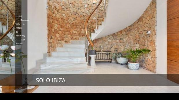 Hostal Five-Bedroom Villa in Antoni de Portmany / San Antonio opiniones