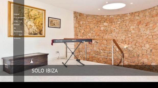 Hostal Five-Bedroom Villa in Antoni de Portmany / San Antonio reverva