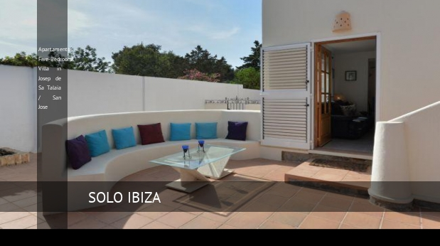 Apartamentos Five-Bedroom Villa in Josep de Sa Talaia / San Jose opiniones