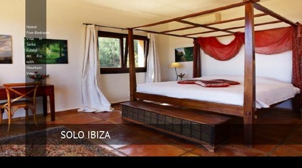 Hostal Five-Bedroom Villa in Santa Eulalia del Río with Mountain View opiniones