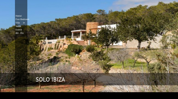 Hostal Five-Bedroom Villa in Santa Eulalia del Río opiniones