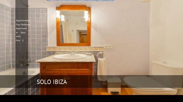 Apartamentos Four-Bedroom Apartment in Ibiza with Pool II opiniones