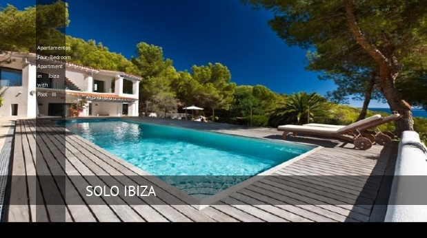 Apartamentos Four-Bedroom Apartment in Ibiza with Pool III reverva