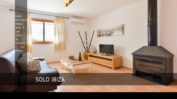 Hostal Four-Bedroom Holiday home in Sant Antoni de Portmany / San Antonio opiniones