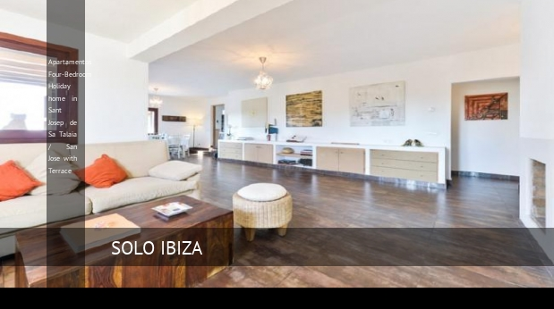 Apartamentos Four-Bedroom Holiday home in Sant Josep de Sa Talaia / San Jose with Terrace reverva