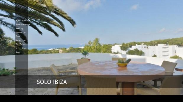 Apartamentos Four-Bedroom Holiday home in Sant Josep de Sa Talaia / San Jose opiniones