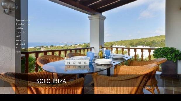 Apartamentos Four-Bedroom Holiday home in Sant Josep de Sa Talaia / San Jose reverva