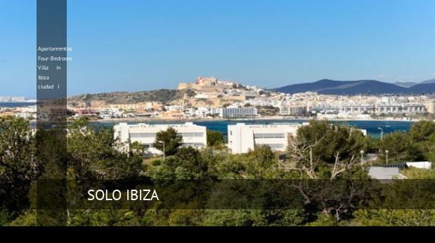 Apartamentos Four-Bedroom Villa in Ibiza ciudad I reverva