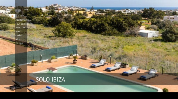 Apartamentos Four-Bedroom Villa in Ibiza ciudad with Terrace I opiniones