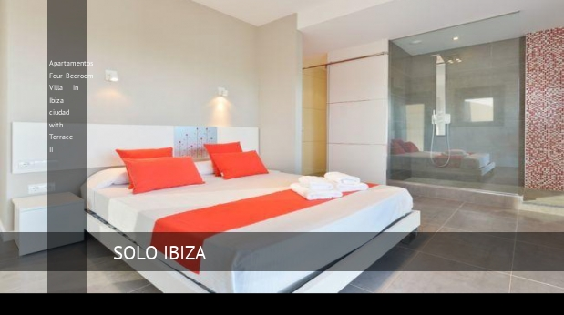 Apartamentos Four-Bedroom Villa in Ibiza ciudad with Terrace II opiniones