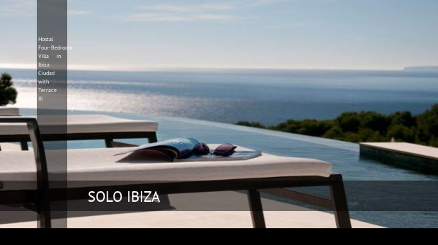Hostal Four-Bedroom Villa in Ibiza Ciudad with Terrace III reverva