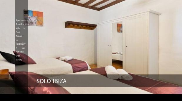 Apartamentos Four-Bedroom Villa in Sant Antoni de Portmany / San Antonio with Valley opiniones