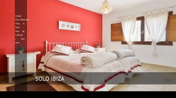 Hostal Four-Bedroom Villa in Sant Joan de Labritja / San Juan opiniones