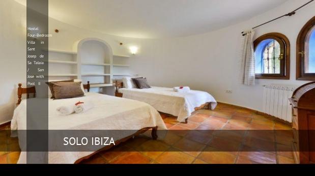 Hostal Four-Bedroom Villa in Sant Josep de Sa Talaia / San Jose with Pool II opiniones