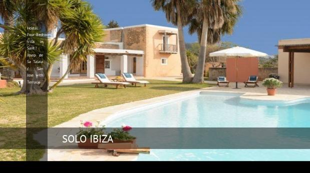 Hostal Four-Bedroom Villa in Sant Josep de Sa Talaia / San Jose with Terrace reverva