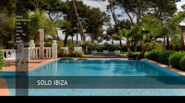 Hostal Four-Bedroom Villa in Santa Eulalia del Río with Pool reverva