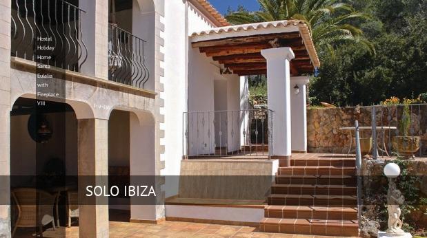 Hostal Holiday Home Santa Eulalia with Fireplace VIII reverva