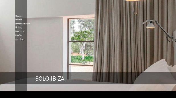 Hostal Holiday HomeBedroom Holiday home in Eulalia del Río opiniones