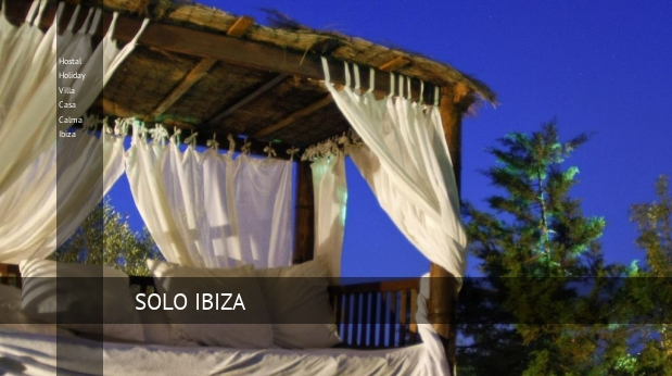 Hostal Holiday Villa Casa Calma Ibiza booking