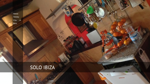 Hostal Holiday Villa in Ibiza reservas