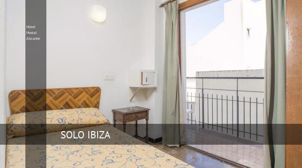 Hotel Hostal Alicante barato