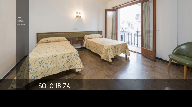 Hotel Hostal Alicante booking