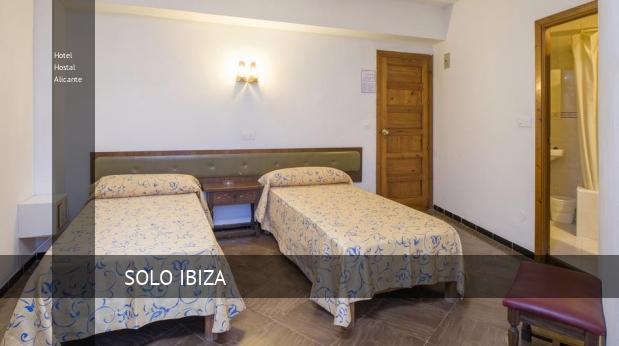 Hotel Hostal Alicante reverva